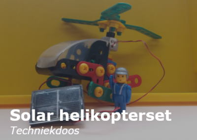 Solar helicopterset